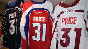 Montreal Canadians Carey Price jersey collections