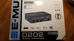 Creative professionnel audio interface usb