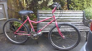"""17"""" Ladies BRC Sierra """"Pink"""" Mountain Bike( tune up)"""