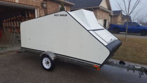 2004 EasyHauler single enclosed snowmobile trailer