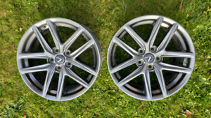 18 inch Lexus  IS OEM wheels/rims