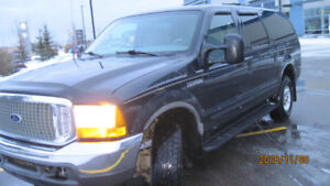 2000 Ford Excursion XLT, 7.3 Diesel, Chipped