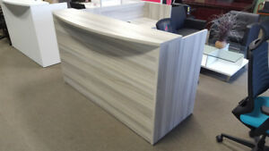 *****L Shape Reception Desk *** 4 Modern colors***NEW***