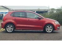2016 Volkswagen Polo 1.2 TSI BlueMotion Tech Match DSG (s/s) 5dr Auto Hatchback