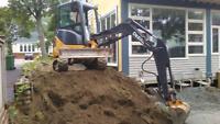 Excavation.landscaping.drainage
