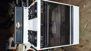 Gas stove and gas dryer new never used