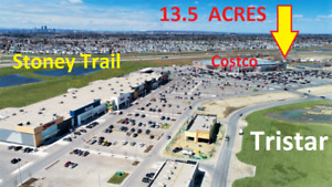 CALGARY Development Land  13+ Acres beside East Hills COSTCO!