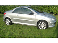 Peugeot 206 1.6 16v Quiksilver 2005MY Coupe Cabriolet Quicksilver