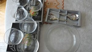15pc Glass Salad Set Cambridge Kitchener Area image 4