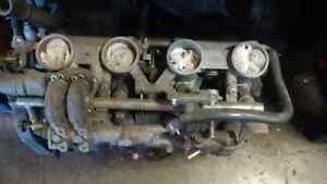 1000 cc yamaha apex engine hole in case complete for parts