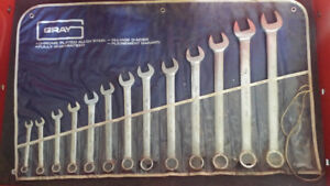 Gray Wrench Set 13 piece Set