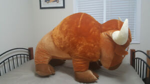 Giant Bison Stuffed Animal (55 Inches)