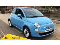 2014 Fiat 500 1.2 Lounge with Bluetooth and Manual Petrol Hatchback