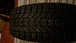 New 14in Winterforce winter tires + rims