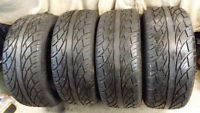 285 50 20 Tires For Sale with less than 3000KM on them!