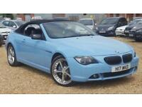 BMW 645 4.4 auto Ci - M6 REPLICA - CONVERTIBLE - PX - SWAP - DELIVERY AVAILABLE