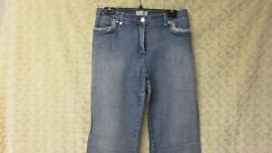St John Sport by Marie Gray Ladies Women's Denim Jeans Size 6