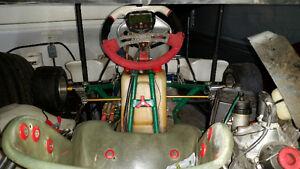 Go-Kart dd2 et rotax 125