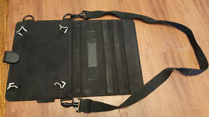 """10"""" to 12"""" tablet shoulder strap case protector and stand!"""