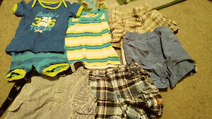 6-12 month summer outfits/shorts