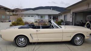 1965 Mustang Convertible-VERNON BC