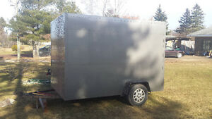REDUCED !! ...Newly Built enclosed Utility Trailer