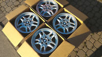 Original BMW 16x7.0 aluminum rims wheels 5x120mm