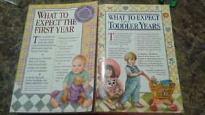 Meal preparation and what to expect baby/toddler books Kitchener / Waterloo Kitchener Area image 2