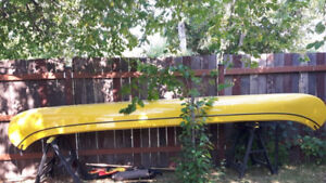 Reduced: Canoe for sale - alone or with accessories