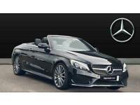 2018 Mercedes-Benz C-CLASS C220d AMG Line Premium Plus 2dr Auto Diesel Cabriolet