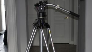 Manfrotto Video Tripod ART 028 with Fluid Head
