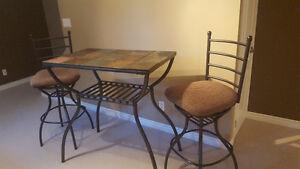 High Top slate/iron table