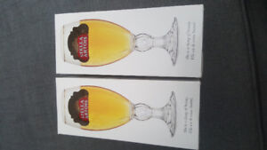 Beautiful Stella Chalices - 40 CL- Brand New $5