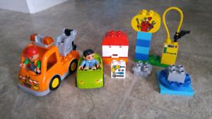 Lego Duplo Tow Teuck Set