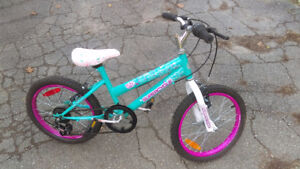 Girls' Bike - Pink & Turquoise