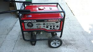 Honda Generator EM 6500SX