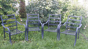 4 lawn chairs -$20.00 for all