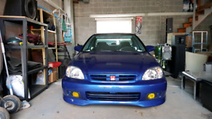 Honda civic 2000 b20 vtec
