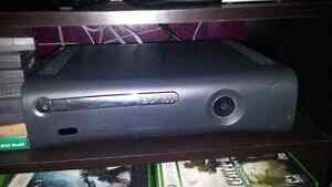 Xbox 360 consol, games and controller