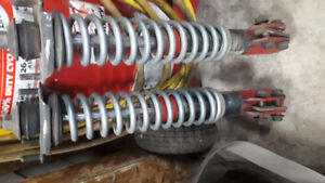 Mustang front coil overs. QA1.