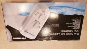 BIDET ATTACHMENT - Dual Nozzle Self-Cleaning.
