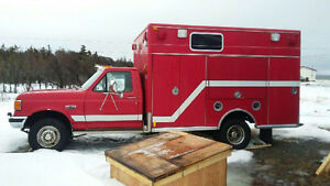 1991 Ford emergency vehicle fully equipped