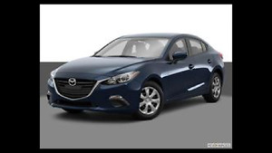2015 Mazda 3 Sedan(Lease Take-Over)