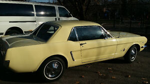1965 Mustang 289 C Code Coupe