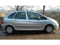 Citroen Xsara Picasso 1.8i 16v 2004MY Exclusive BARGAIN PART EXCHANGE WITH MOT