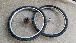 26 x 1.95 roues de vélo