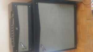 Fender mustang v 150 watt cabinet for sale head and cabinet