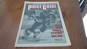 Hockey Card Price Guide, Printed in 1990-91