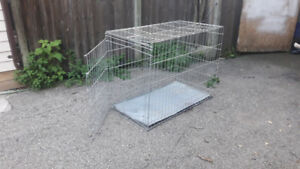 Extra large dog crate used for king Sheppard