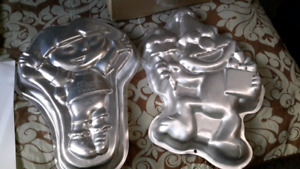 Cake pans and instructions